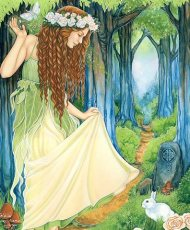 Ostara - Spring Goddess